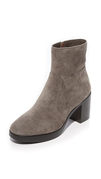 Frye Joan Campus Booties - Elephant