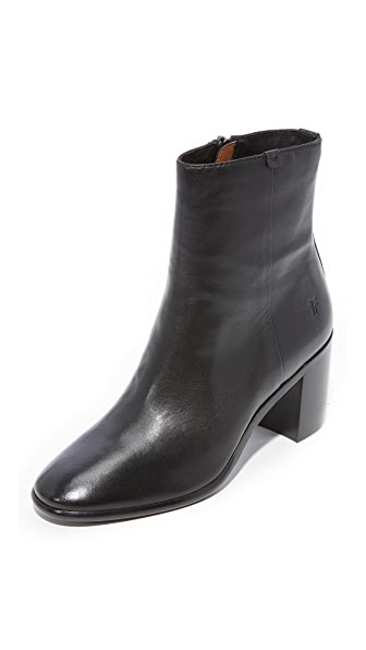Frye Julia Booties - Black
