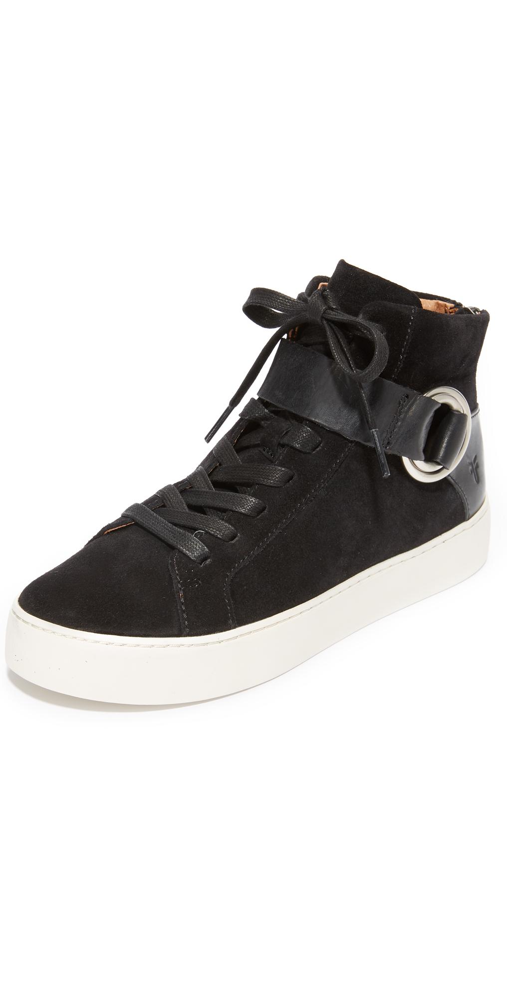 Lena Harness High Top Sneakers Frye