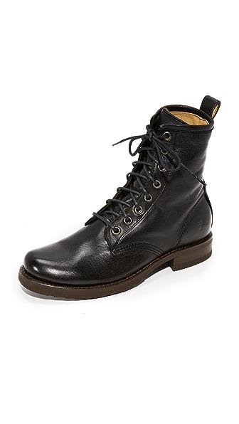 Frye Veronica Combat Boots