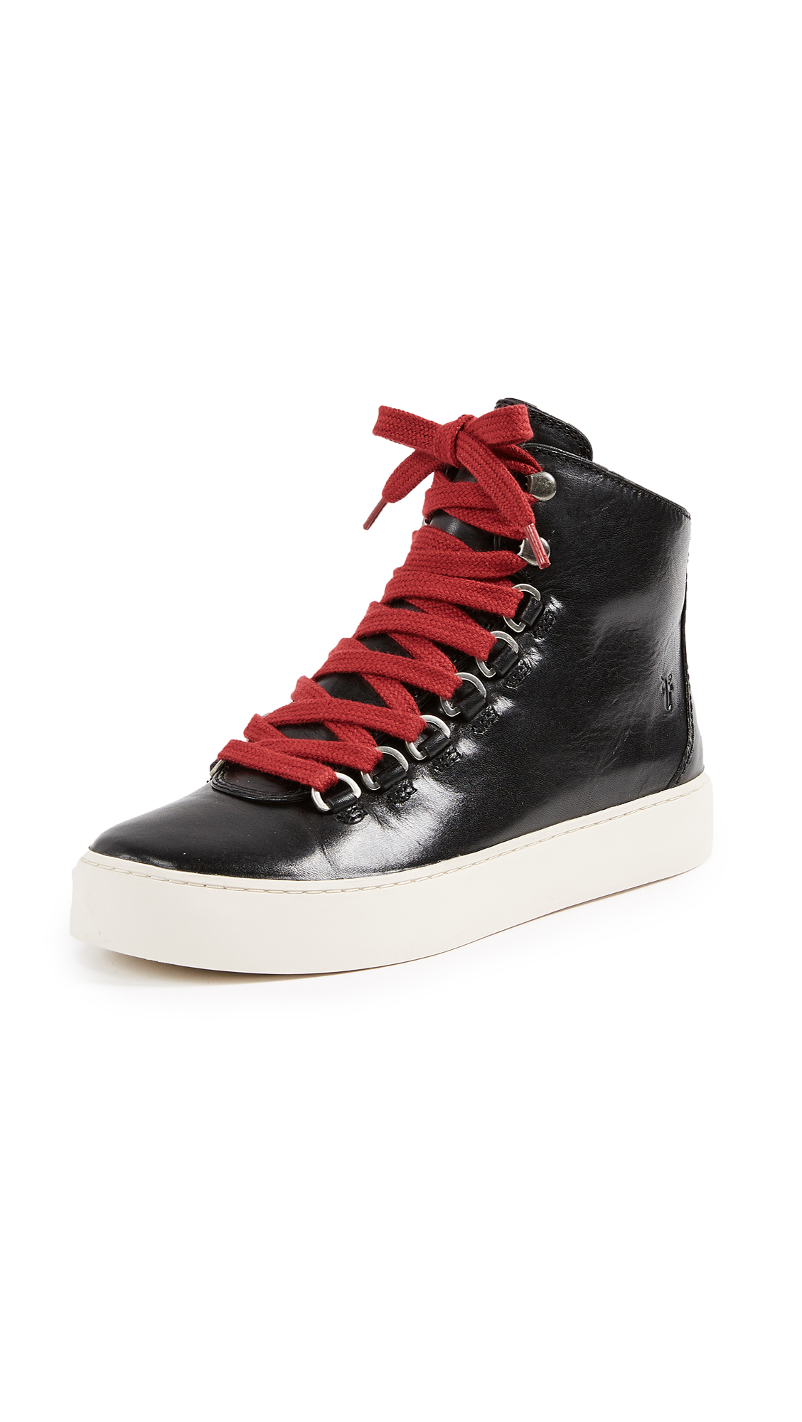 Frye Lena Hiker Sneakers - Black