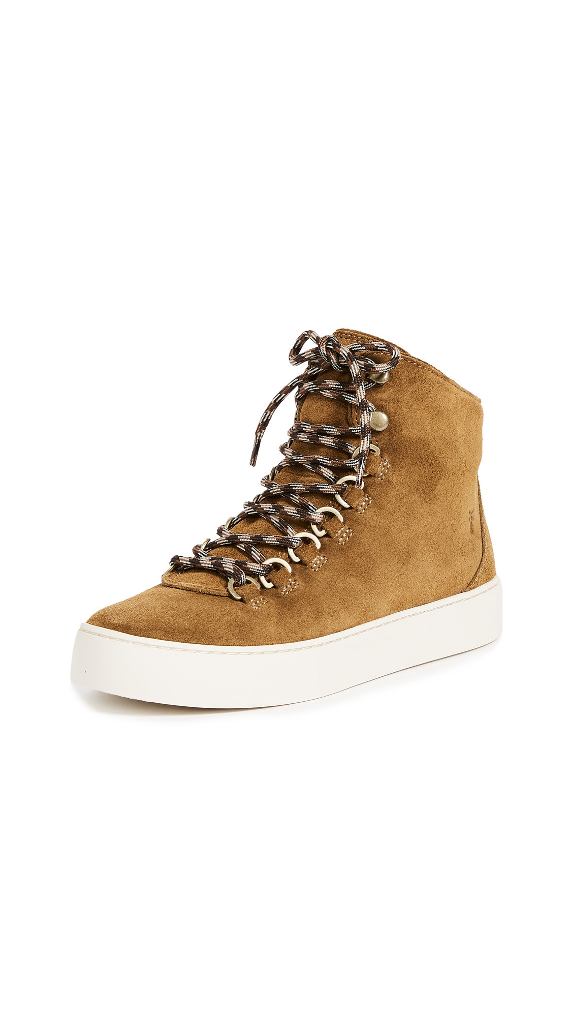 Frye Lena Hiker Sneakers - Wheat