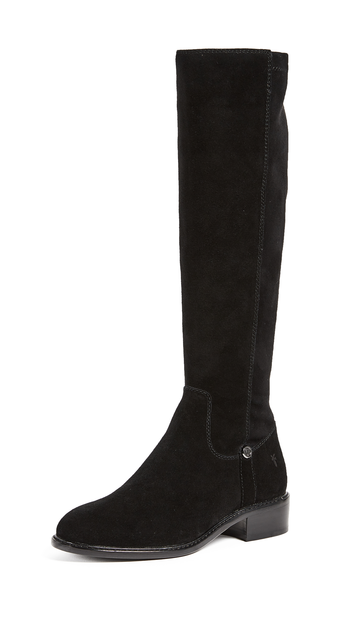Frye Taylor Stretch Tall Boots - Black