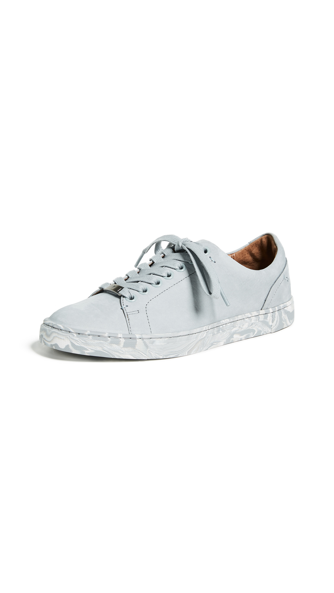 Frye Ivy Low Lace Sneakers - Ice