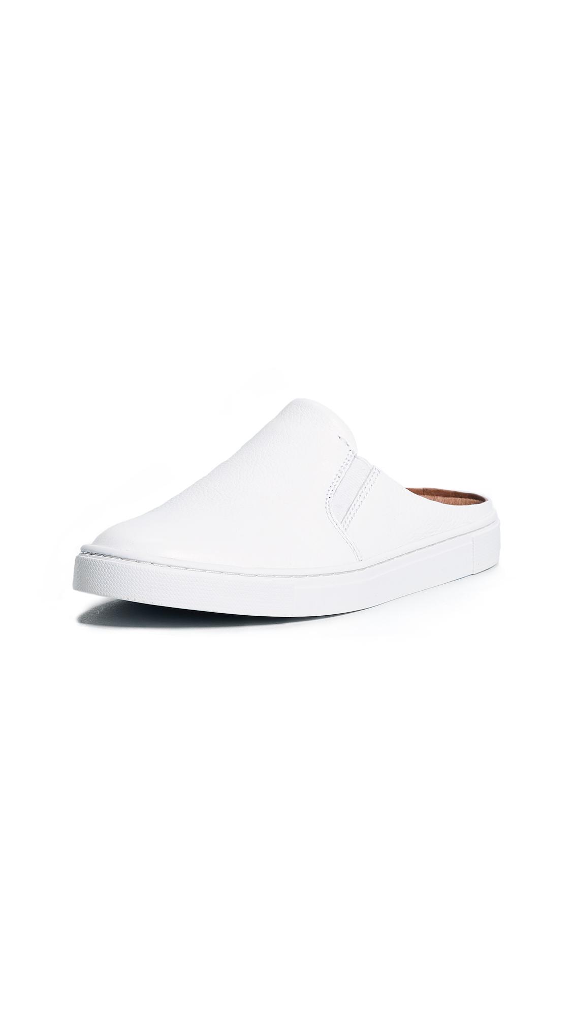 Frye Ivy Mule Sneakers - White