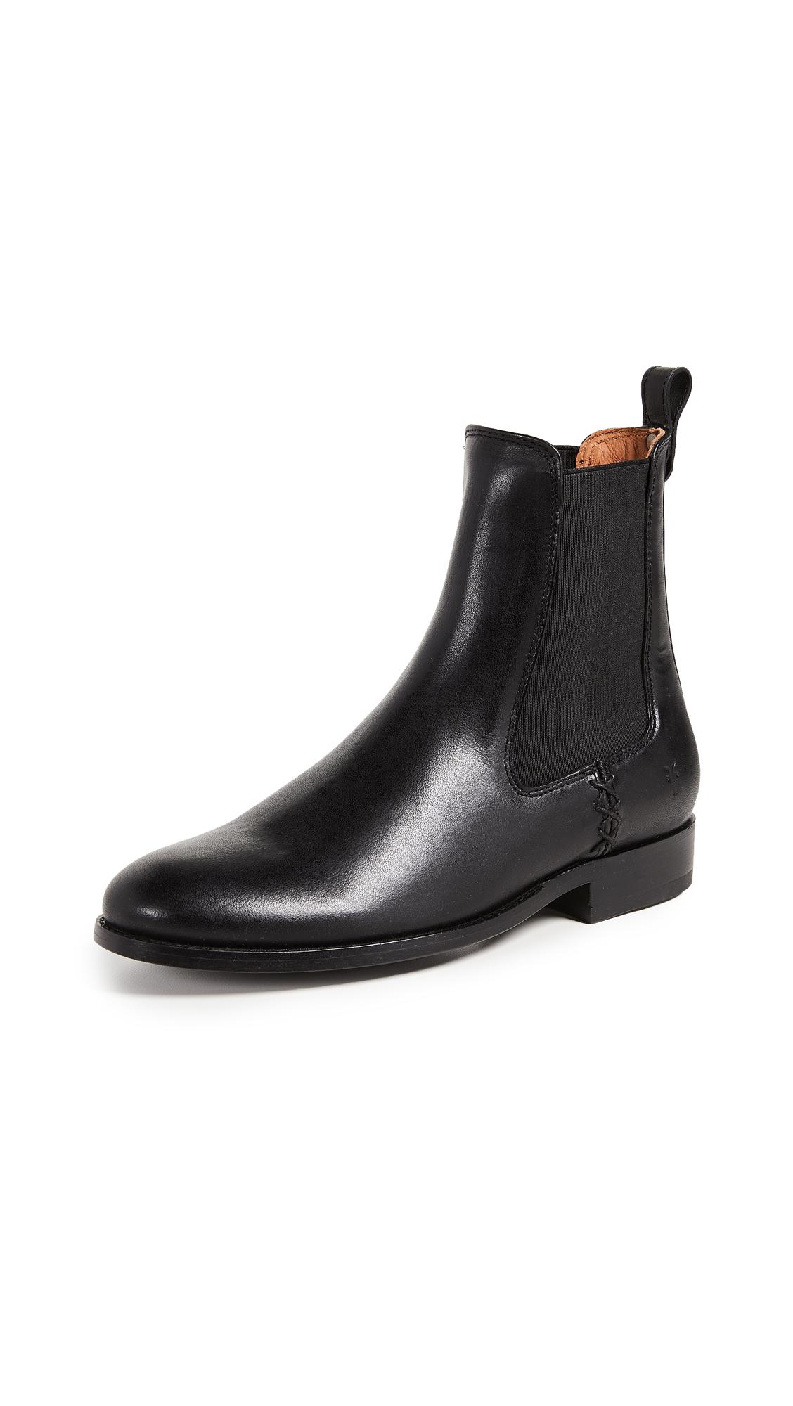 Frye Melissa Chelsea Boots - Black