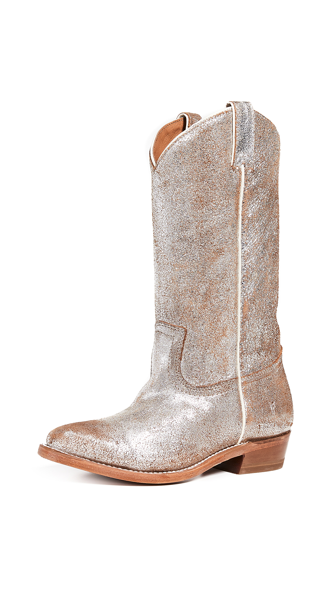 Frye Billy Pull On Boots - Silver Multi