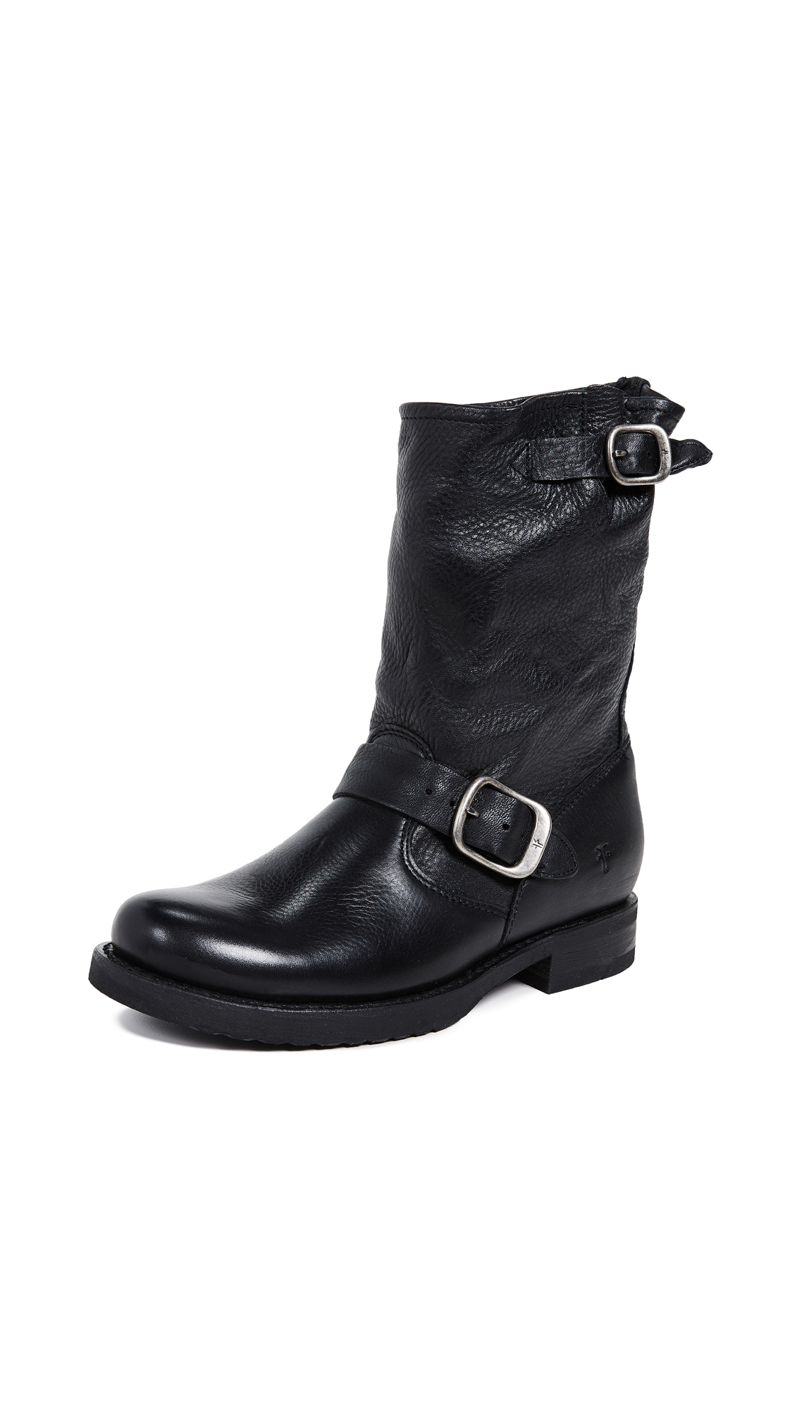 Frye Veronica Short Boots - Black
