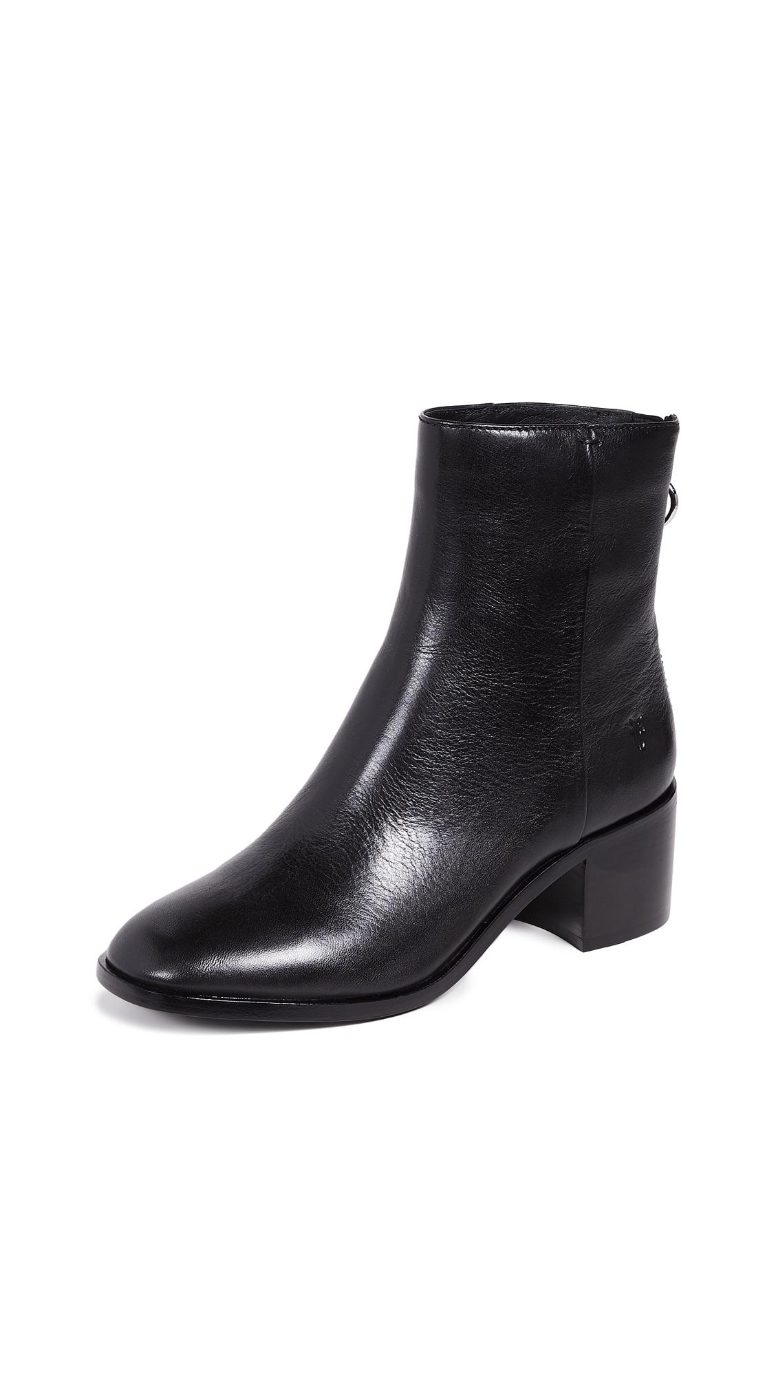 Frye Emilia Short Boots - Black
