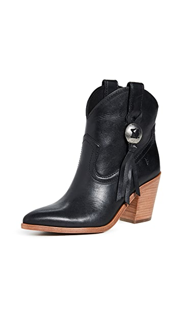 Frye Faye Concho Short Booties