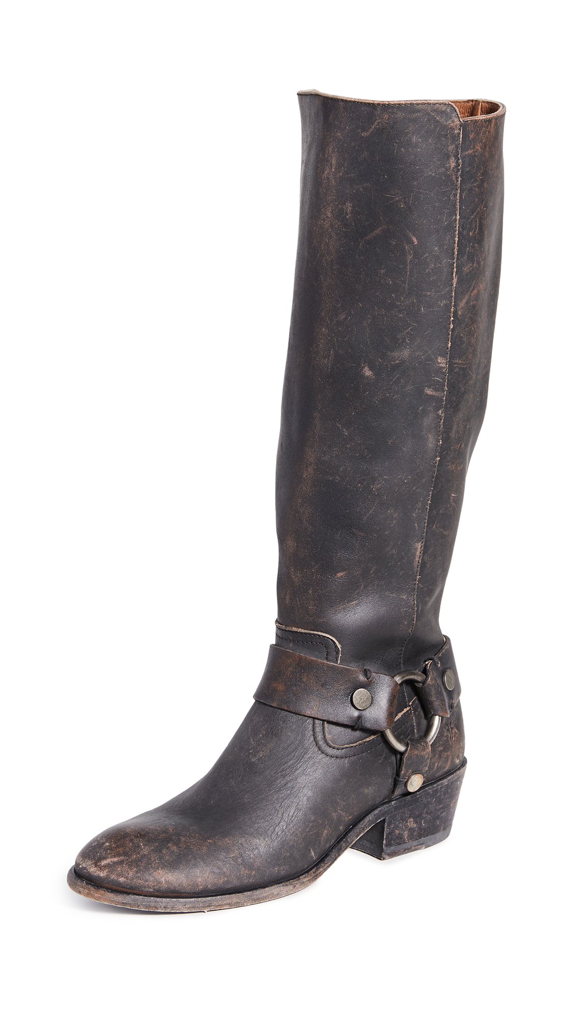 Frye Carson Harness Tall Boots – 70% Off Sale