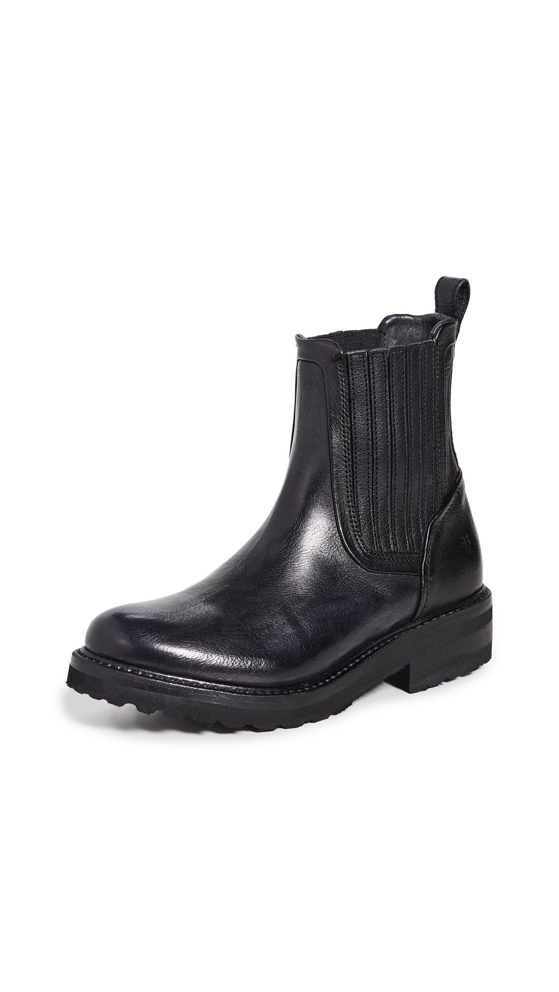 Buy Frye online - photo of Frye Ella Moto Chelsea Boots