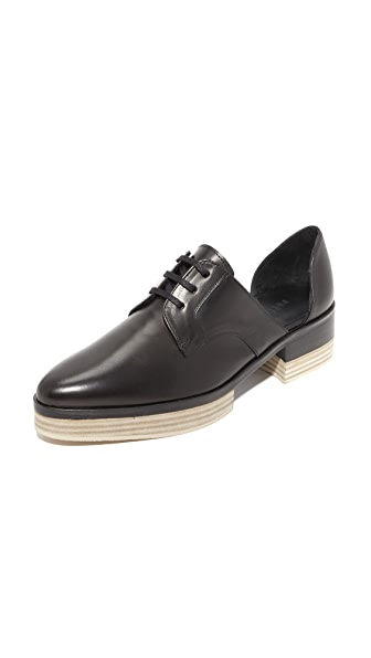 Freda Salvador Will d Orsay Platform Oxfords - Black