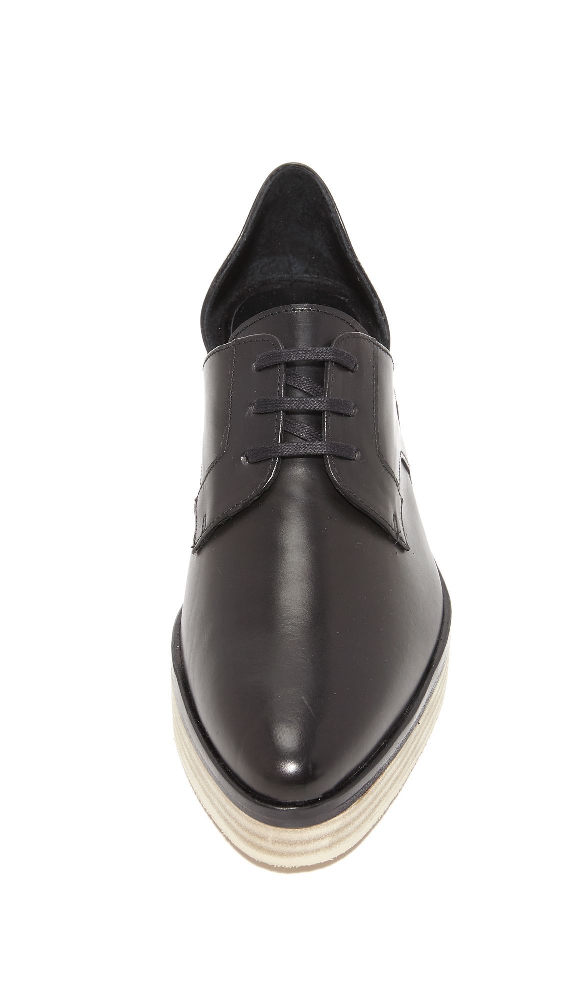 Freda Salvador Will Dorsay Platform Oxfords Shopbop D Island Shoes Casual Oxford Loafers Genuine Leather Brown