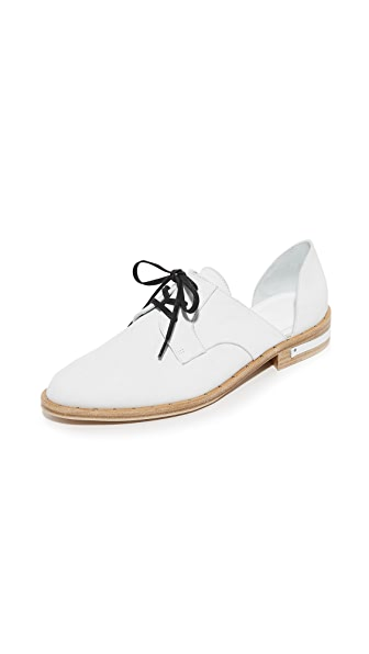 Freda Salvador Wit d Orsay Oxfords - Ivory