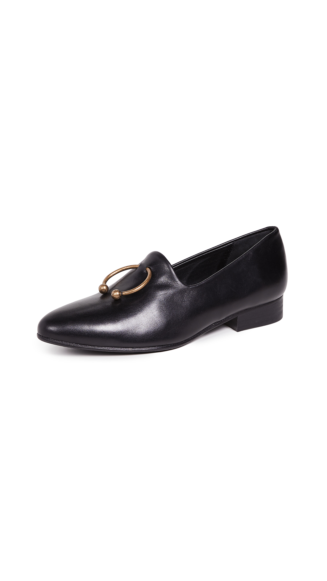 Freda Salvador Lane Loafers - Black