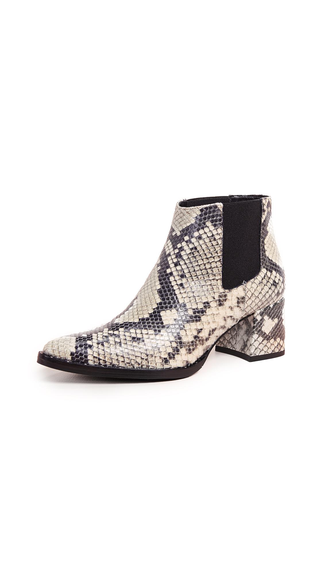 Freda Salvador Virgo Mid Heel Chelsea Boots - Grey/Black