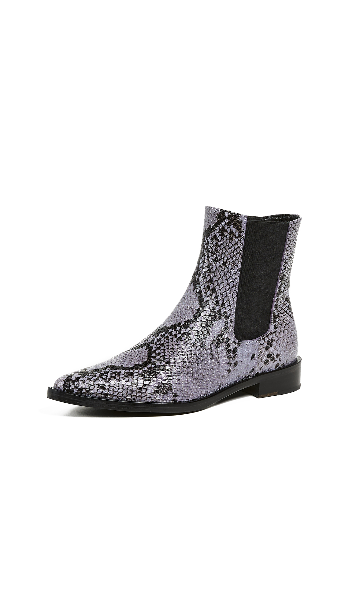 Freda Salvador Joan Pointed Toe Chelsea Boots - Lilac