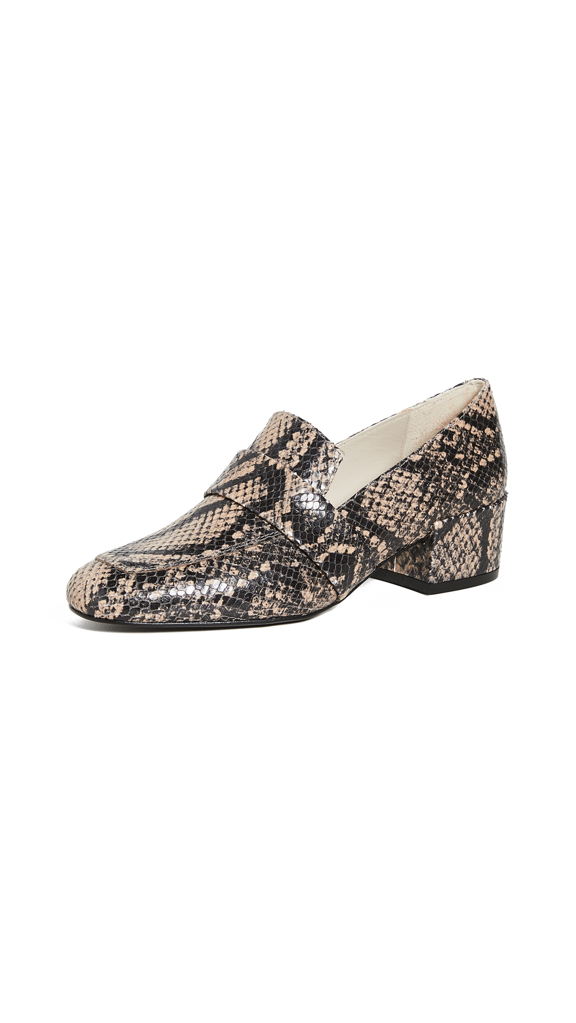 Buy Freda Salvador Rock Heeled Loafers online, shop Freda Salvador