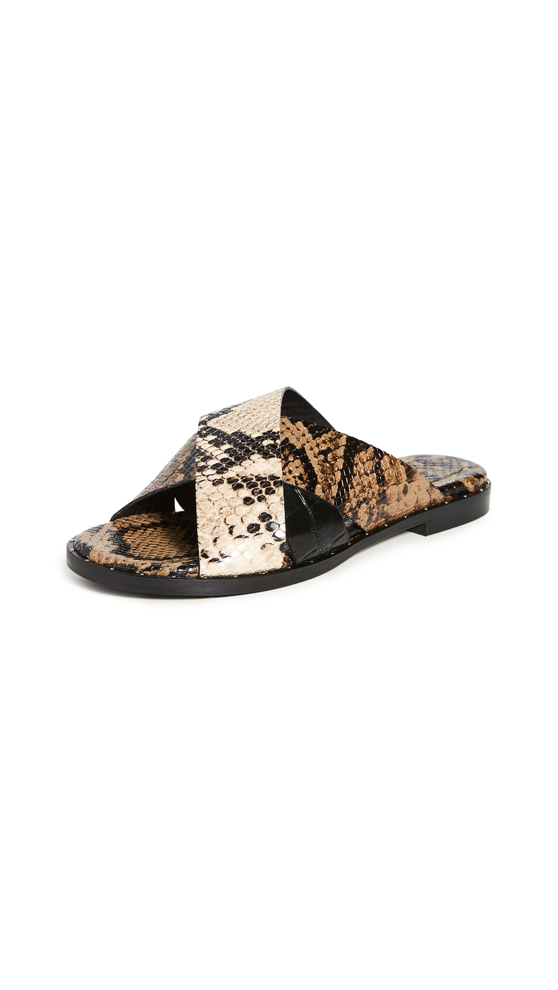 Freda Salvador Dew Cross Strap Sandals – 30% Off Sale
