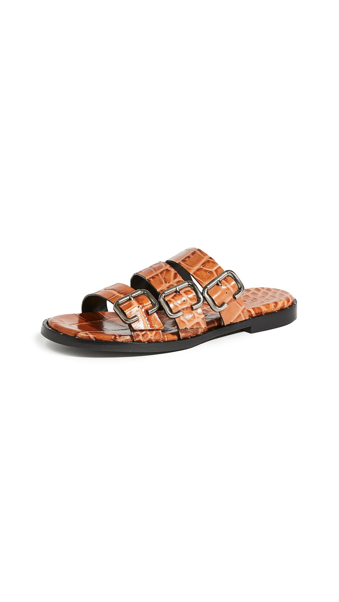 Buy Freda Salvador Ines Multi Strap Sandals online, shop Freda Salvador