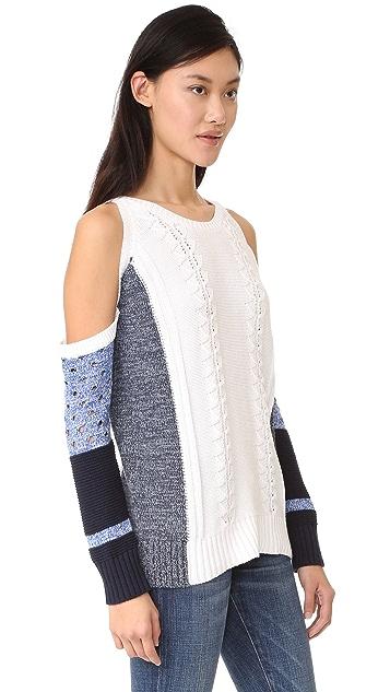 Fred and Sibel Off Shoulder Sweater