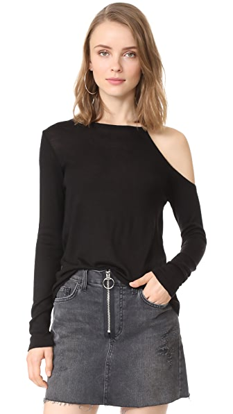Fred and Sibel Open Shoulder Sweater