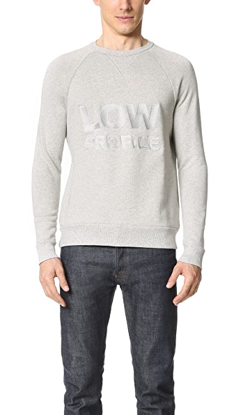 French Trotters Denis Low Profile Sweatshirt