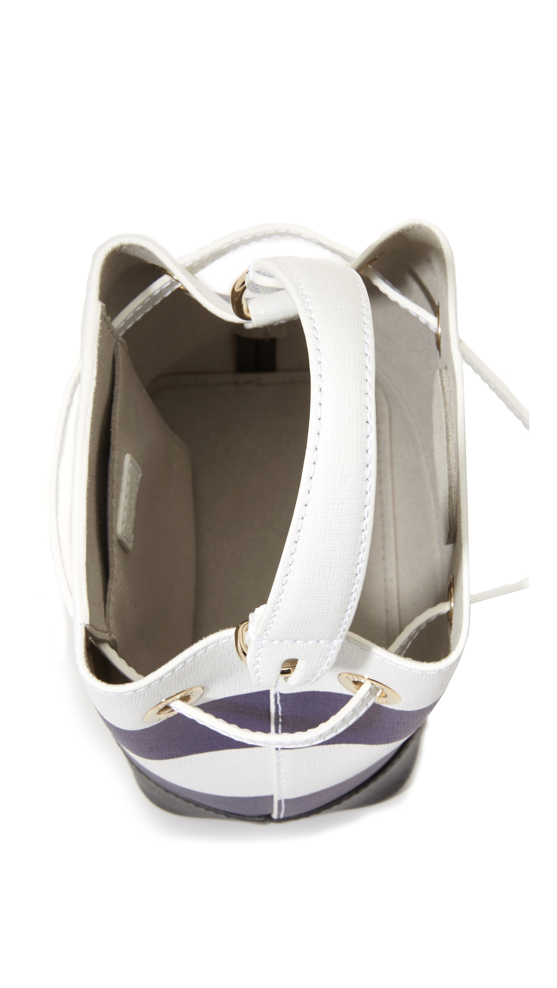 29c46633fb9 Furla Stripe Stacy Mini Bucket Bag   SHOPBOP