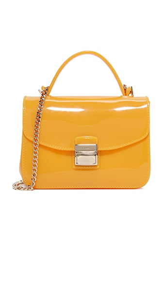 Furla Candy Sugar Mini Cross Body Bag - Giallo
