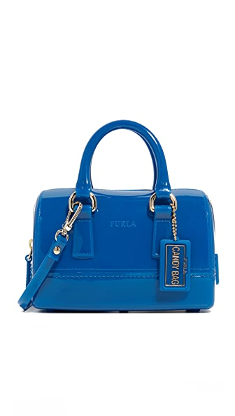 Furla Candy Sweetie Mini Satchel - Bluette
