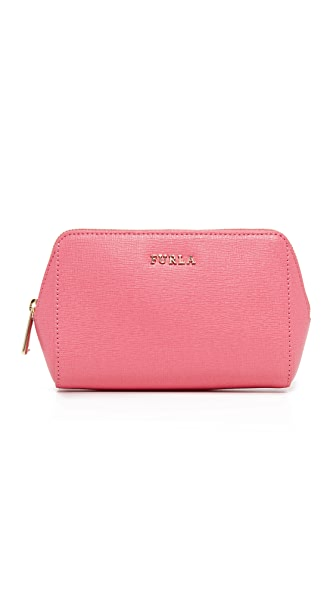 Furla Electra Medium Cosmetic Case - Rose