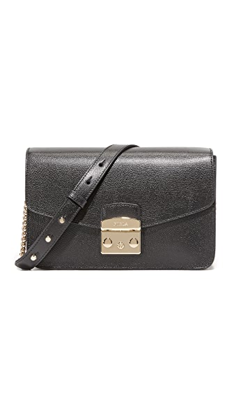 Furla Metropolis Shoulder Bag - Onyx