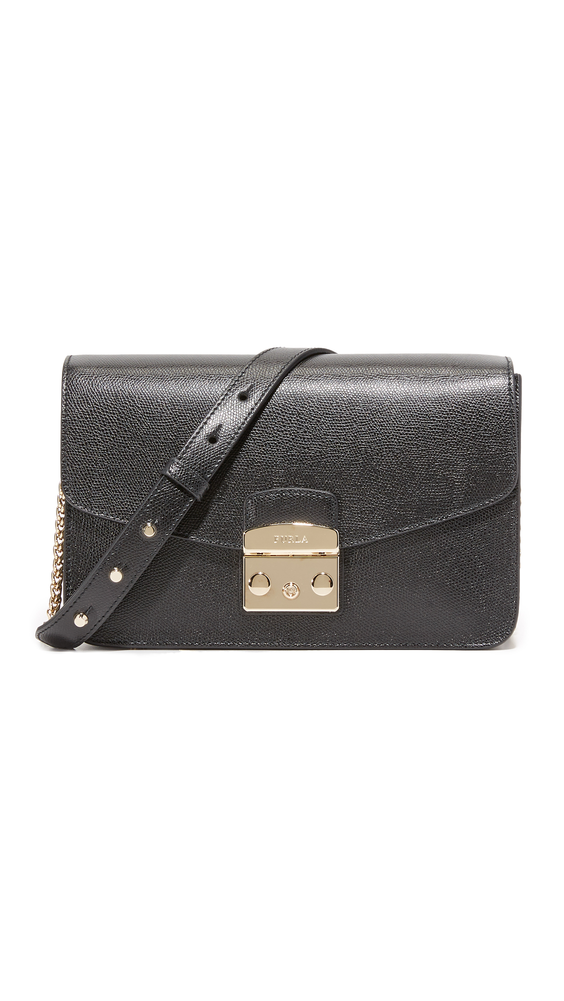 Furla Shopbop Extra 30 Off Sale Styles Use Code Joy18 Dome Small Onyx Authentic