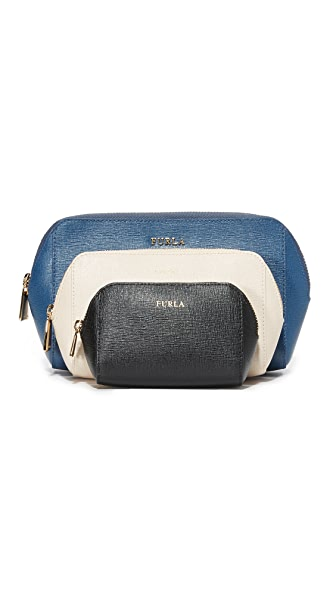 Furla Electra Cosmetic Case Set