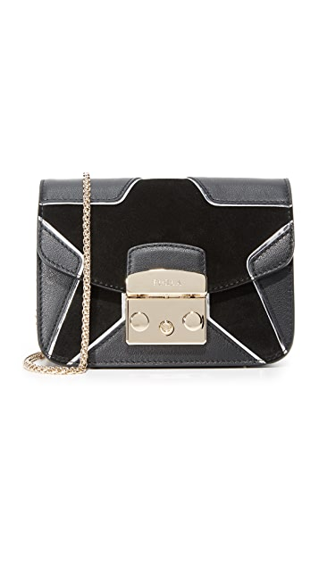 Furla Metropolis DJ Mini Crossbody Bag