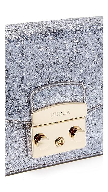 Furla Glitter Metropolis Mini Crossbody Bag