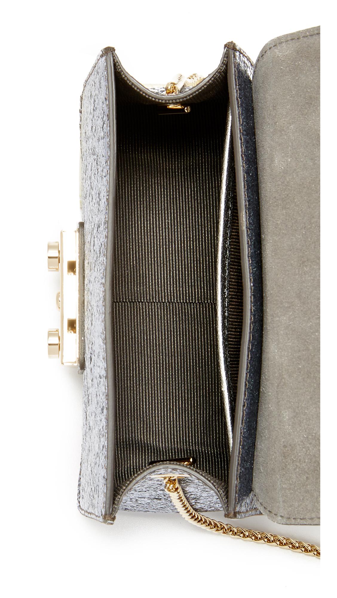 89003e0faf3c Furla Блестящие Метрополис мини-через плечо сумка   SHOPBOP