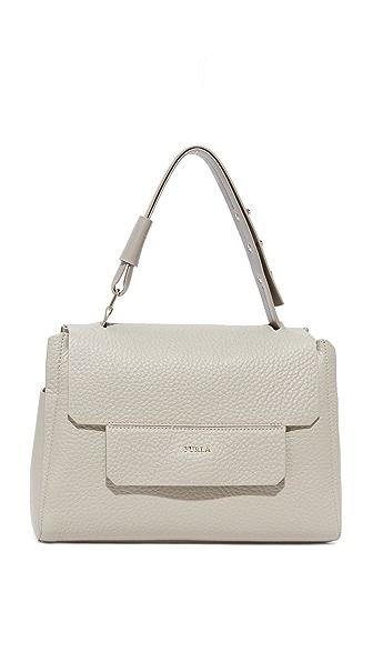 Furla Capriccio Medium Top Handle Bag - Sabbia