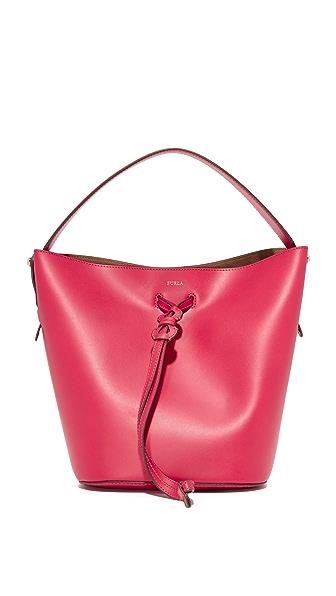 Furla Vittoria Small Drawstring Bag
