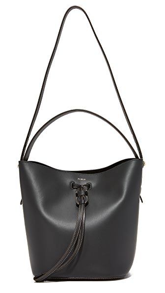Furla Vittoria Small Drawstring Bag