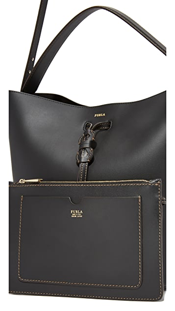 Furla Vittoria Medium Drawstring Bag