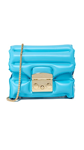 Furla Oxygen Metropolis Cross Body Bag - Turchese