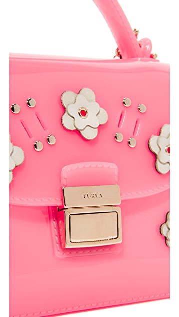 Furla Candy Lilla Sugar Mini Cross Body Bag
