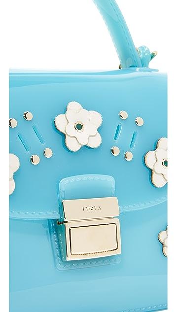 Furla Candy Lilla Sugar Mini Cross Body Bag