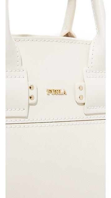Furla Маленькая объемная сумка с короткими ручками Lucky
