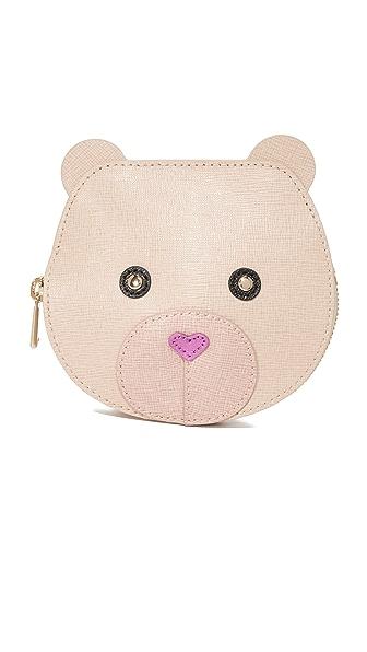 Furla Маленькая сумочка для монет Allegra в форме мордочки медведя