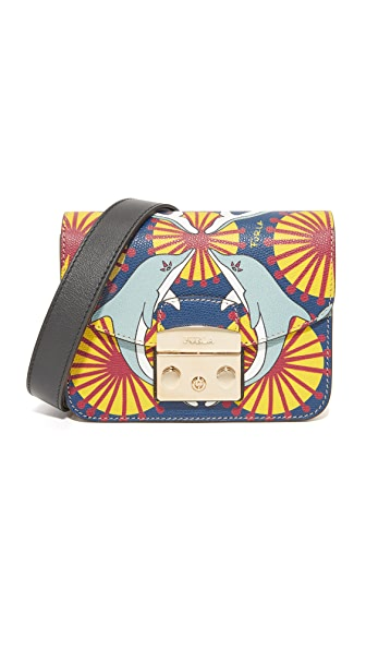 Furla Metropolis Mini Cross Body Bag - Multi