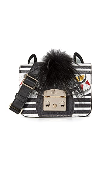 Furla Metropolis Jungle Mini Cross Body Bag - Petalo