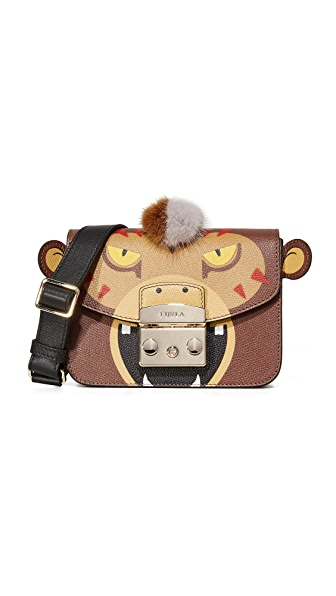 Furla Metropolis Jungle Mini Cross Body Bag - Glace.